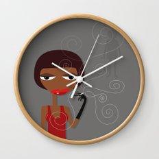 Smoking hot Wall Clock