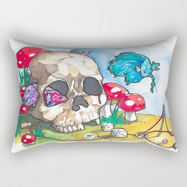 Patch Things Up Rectangular Pillow