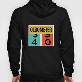 40th Birthday - Oldometer: 40 Years Old Hoody