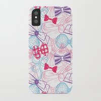 bows iPhone & iPod Cases featuring Bows by Wendy Ding