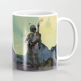 Lab No.4 -Boba Fett Movie Motivating Quotes Poster Coffee Mug
