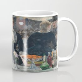Edouard Manet's A Bar at the Folies-Bergere Coffee Mug