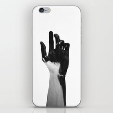 Charcoal Hands  iPhone & iPod Skin
