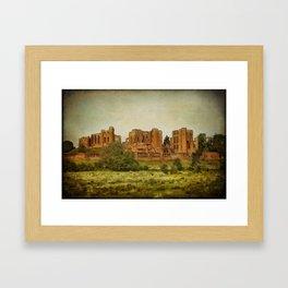The Ruins Framed Art Print