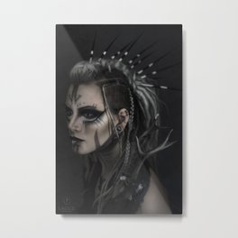 Wylde Hunt Metal Print