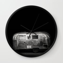Vintage Airstream Camper Trailer Wall Clock