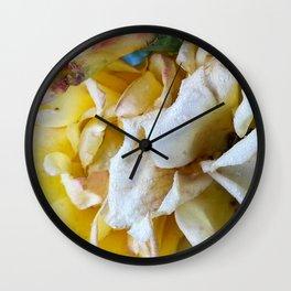 Backyard Beauty - Yellow Petals Wall Clock