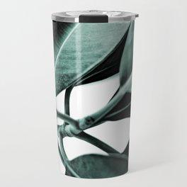 Minimal Rubber Plant Travel Mug