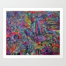 Morgana-Thee  Art Print