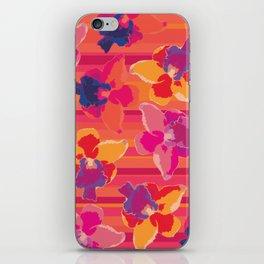 Fluor Flora - Hot Flamingo iPhone Skin