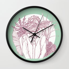 Creatures with no eyes Wall Clock