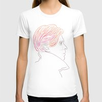 david bowie T-shirts featuring Bowie by Bruno Gabrielli