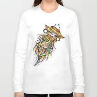 jelly fish Long Sleeve T-shirts featuring Jelly Fish by Minimynimo