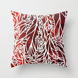 Snowflower and the Secret Fan Throw Pillow