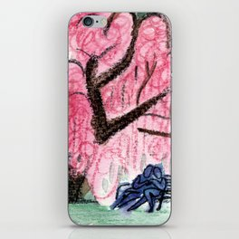 Blossoming Romance iPhone Skin