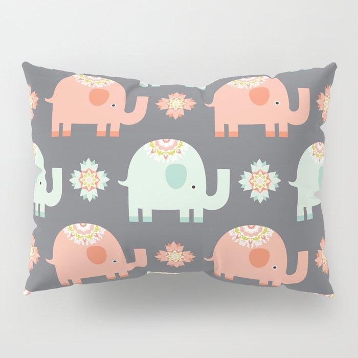 Elephants Pillow Sham