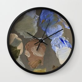 LIMITED PALETTE NO. 3 Wall Clock