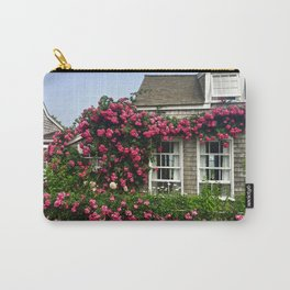Rose House in Sconset Nantucket Carry-All Pouch