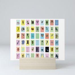 Lotería Mini Art Print