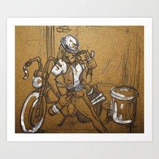 Scoundrel Art Print