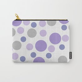 Purple cute dots Carry-All Pouch