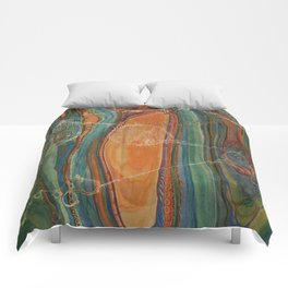 Lively Synapses (Amplified Current) Comforters