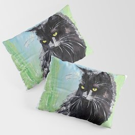 My little cat - kitty - animal - by LiliFlore Pillow Sham