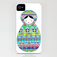 Russian Doll Slim Case iPhone (4, 4s)