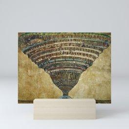 Map of Hell by Sandro Botticelli Mini Art Print