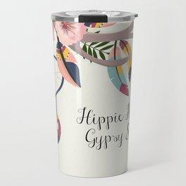 Hippie Heart , Gypsy Soul , Dream Catcher Travel Mug