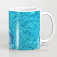 pool Mugs featuring Pool by Lama BOO