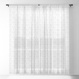 FUCK THREE Sheer Curtain