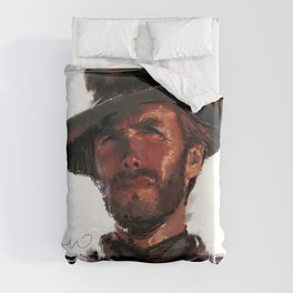 The Good - Clint Eastwood Duvet Cover