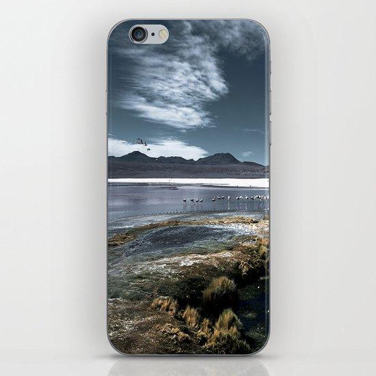 Red lagoon iPhone & iPod Skin