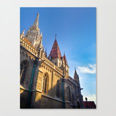 CITY PHOTOGRAPHY - BUDAPEST Matthias Church Canvas Print