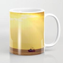 Going Fishing at sunset Coffee Mug