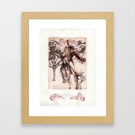 Dillema Framed Art Print