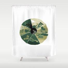 September 22 Shower Curtain