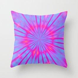 Magical Tie Dye Throw Pillow