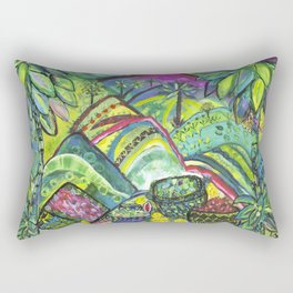 Lush Abundance Rectangular Pillow