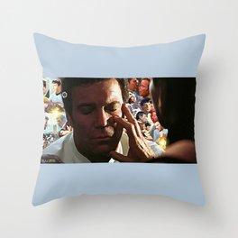 Mind Meld Throw Pillow