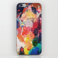 Paint Palette iPhone & iPod Skin
