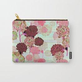 Pink & Green - by Fanitsa Petrou Carry-All Pouch