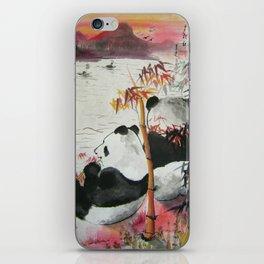 romantic evening iPhone Skin