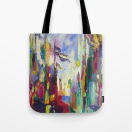 A Day in Chicago Tote Bag