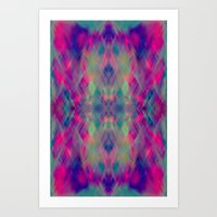 prism Art Prints featuring Prism by Amy Sia