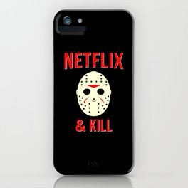 Netflix & Kill - Jason Vorhees Friday The 13th iPhone Case