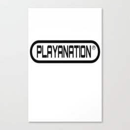 Reg PlayaNationMG BLK Canvas Print