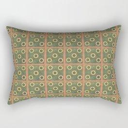 Grandmas Afghan Summer Rectangular Pillow