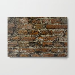 Bricks in the wall Metal Print